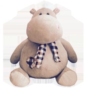 Бегемот Иннокентий (60 см)