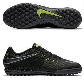 Шиповки-сороконожки Nike HypervenomX Finale TF чёрные