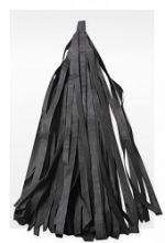 Гирлянда Тассел, чёрная, 3м, 10 листов