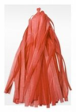 Гирлянда Тассел, оранжевая, 3м, 10 листов