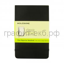 Книжка зап.Moleskine Pocket Reporter Soft нелинованная черная QP813