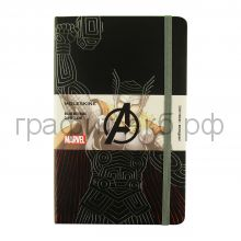 Книжка зап.Moleskine Large THE AVENGERS (Мстители) линейка THOR LEAVQP060TH