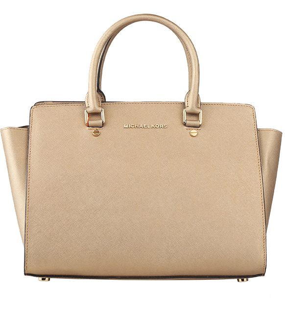 Michael Kors Selma Medium Satchel Maize