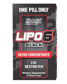 Lipo-6 Black Ultra Concentrate от Nutrex 60 кап