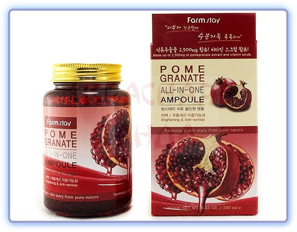 Сыворотка с экстрактом граната Farmstay Pomegranate All-In-One Ampoule