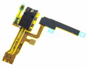 FLC (Шлейф) Sony C6502 Xperia ZL/C6503 Xperia ZL (с микрофоном и разъемом гарнитуры) Оригинал