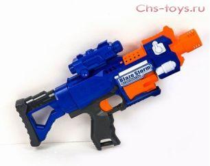 Бластер детский 7055 с мягкими пулями.