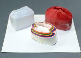 GIFT: Катушки для рта (белые и разноцветные) (2 шт)