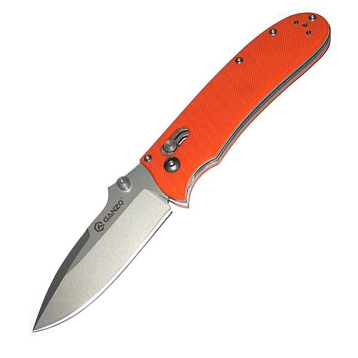 Нож Ganzo G704 оранжевый