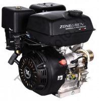 Двигатель Zongshen (Зонгшен) ZS 190 FE с электростартером, имеет объем 420 куб. см и обладает мощностью 15 л. с., горизонтальный вал 25 мм.