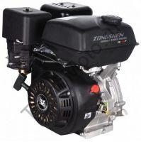 Двигатель Zongshen (Зонгшен) ZS 188 FA2 с катушкой освещения мощностью 12V, DC 60W,  аналог Honda GX390 type S, имеет объем 389 куб. см и обладает мощностью 13 л. с., горизонтальный вал 25 мм.