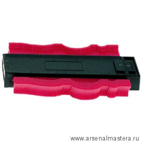 Шаблон профильный пластинчатый часть В 125х40 мм  DICTUM 707145 М00003570