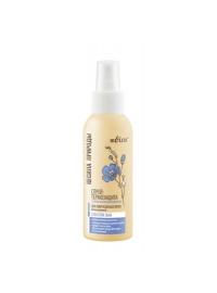 Сила Природы Cпрей-термозащита с маслом льна для поврежденных волос с антистатическим эффектом несмываемый  100 мл