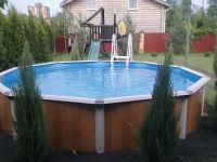 Сборный круглый бассейн Atlantic Pools Esprit 2,4 x 1,25 м