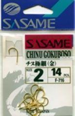 Крючок Sasame Chinu Gokuboso F-716 (упаковка)