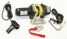 Лебедка электрическая Стократ QX 3.0 S с синтетическим тросом