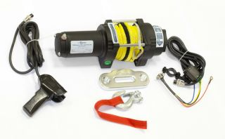Лебедка электрическая Стократ QX 4.0S с синтетическим тросом