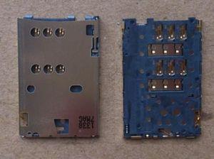 Разъём Nokia 112/Asha 202/Asha 305/Asha 306/Asha 308/Asha 310/C2-00/C2-03/C2-06/C2-08 (sim-карты) Оригинал