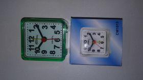 Часы-будильник квадрат, мал., 6х6см