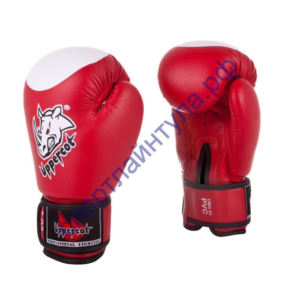 Боксерские перчатки UBG-01 PVC Red
