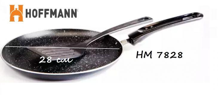 Сковорода для блинов с лопаткой 28 см HOFFMANN HM 7828