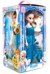 (сток по упаковке) Набор из 4-х кукол «Холодное сердце»