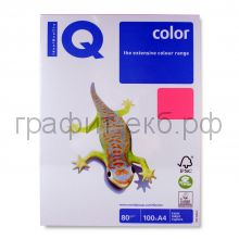 Бумага А4 IQ NEOGN розовая 100л.