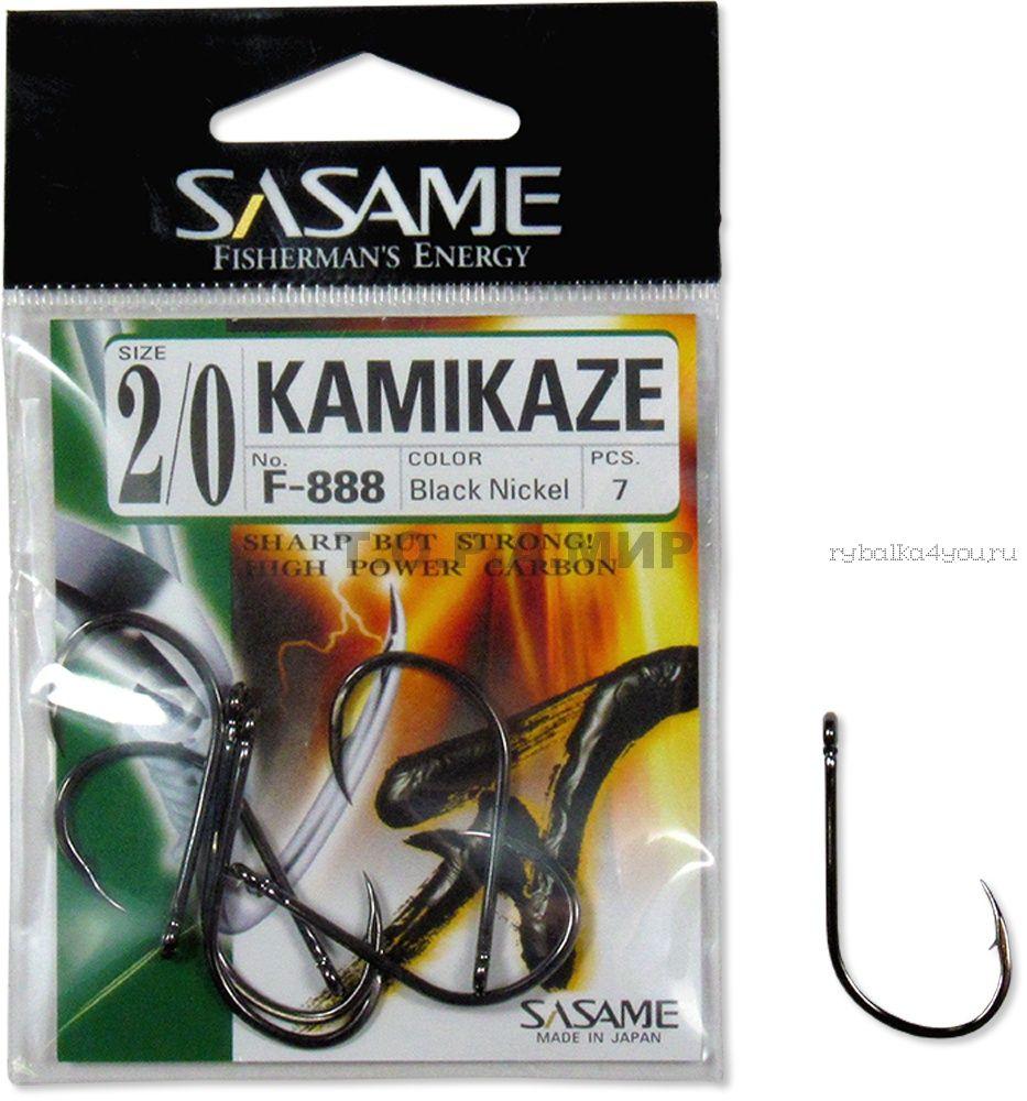 Купить Крючок Sasame Kamikadze F- 888 (упаковка)