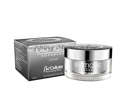 Полирующий скраб для лица Биотик Адвансед | Biotique Advanced BXL Cellular Resurfacing Scrub