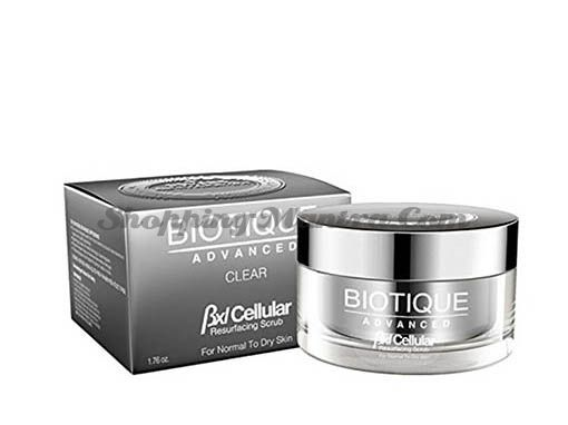 Полирующий скраб для лица Биотик Адвансед   Biotique Advanced BXL Cellular Resurfacing Scrub