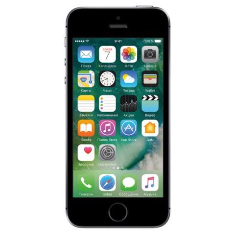 Apple iPhone SE 64 ГБ «Серый космос»