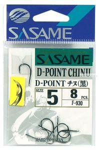 Крючок Sasame D-Point Chinu F-930 ( упаковка )