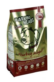 """Barking Heads беззерновой корм для собак с индейкой и бататом """"Бесподобная индейка"""""""