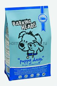 """Barking Heads для щенков с курицей, лососем и рисом """"Щенячьи деньки"""""""