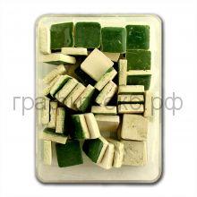 Мозаика 10х10 керамика зеленая темная МХ-7615-281