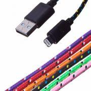 USB кабель в оплетке для iPhone 3/4