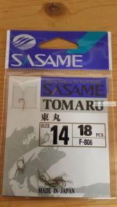 Крючок Sasame Tomaru F-807 упаковка 15 шт
