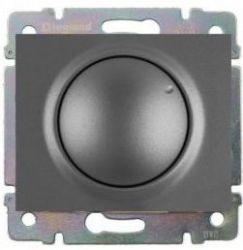 Накладка диммера поворотного 420Вт Legrand Galea Life Aluminium (арт.771360)