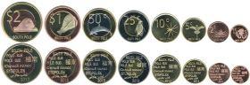 Фауна Южный полюс 2013 (8 монет)