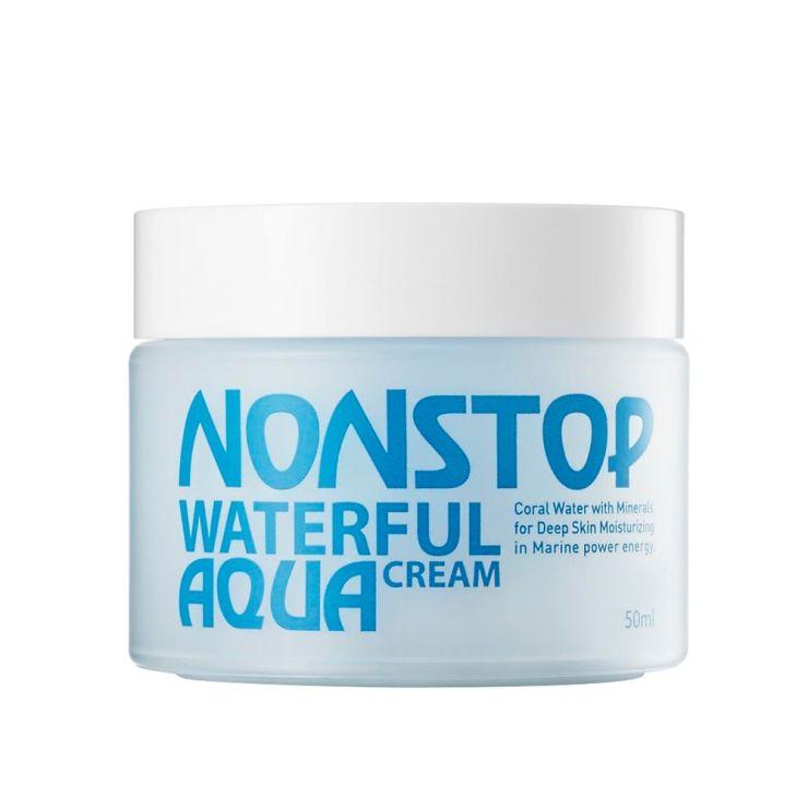 Увлажняющий крем для лица - Mizon Nonstop Waterful Aqua Cream