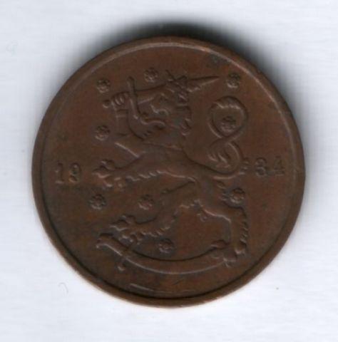 10 пенни 1934 г. Финляндия