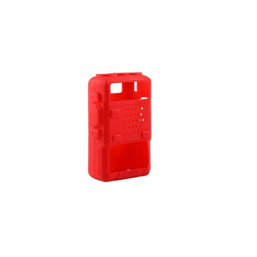 Резиновый чехол для рации Baofeng UV-5R красный