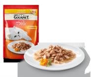 Gourmet Mon Petit Мини филе в подливе с ягненком (50 гр)