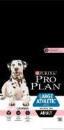 Pro Plan LARGE ADULT ATHLETIC SENSITIVE SKIN Корм для собак крупных пород атлетического телосложения с чувствительной кожей с лососем и рисом (14 кг)