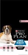 Pro Plan LARGE ADULT ROBUST SENSITIVE SKIN Корм для собак крупных пород мощного телосложения с чувствительной кожей с лососем и рисом (14 кг)