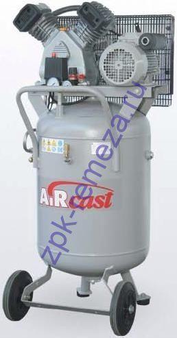 компрессор поршневой 420 л/мин, 10 бар, 2.2 кВт. 380 В, ресивер 100 л. вертикальный