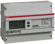 Электросчетчик ABB однофазный, двухтарифный, кл.точности 2,прямого включения 80А