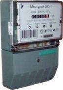 Электросчетчик Меркурий 203.1 5-80А/220В кл.т.1,0 однотарифный мех.