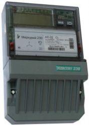 Электросчетчик Меркурий-230 10-100А 220/380В Кл.т.1,0/2,0 1тариф А/Р ЖКИ