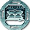 Розетка телеф. ABB 2хRJ11 двойная